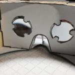 【VRヘッドセット】Google Cardboardを自作、レンズも磁石も100均で!
