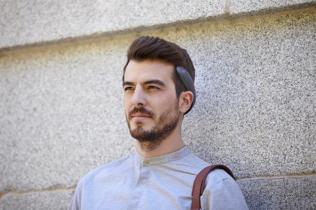 BATBAND、未来の骨伝導Bluetoothヘッドホン