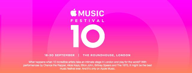 Apple Music Festival 10開催、有料会員向けにライブ配信も