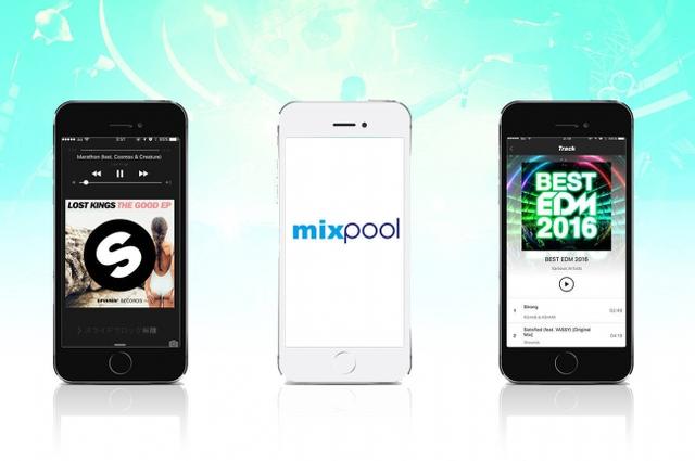mixpool、ダンスミュージック特化の定額制音楽配信サービス開始