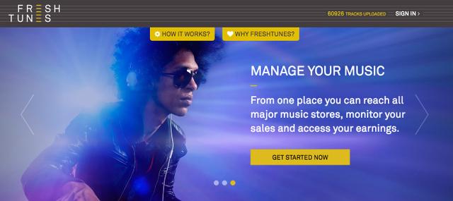 FreshTunes、TuneCoreの競合かもしれない音楽サービスが発表