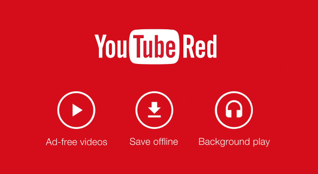 YouTube RedとGoogle Play Musicに統合の噂