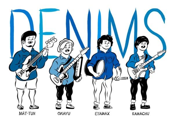 DENIMSとNewspeakが新宿レッドクロスで2マン企画出演を発表