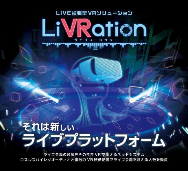 LiVRation、新しいライブVR配信プラットフォームが面白そうだけど・・・。