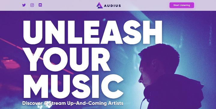 Audius、ブロックチェーンを用いた新たな音楽ストリーミングサービスが開始