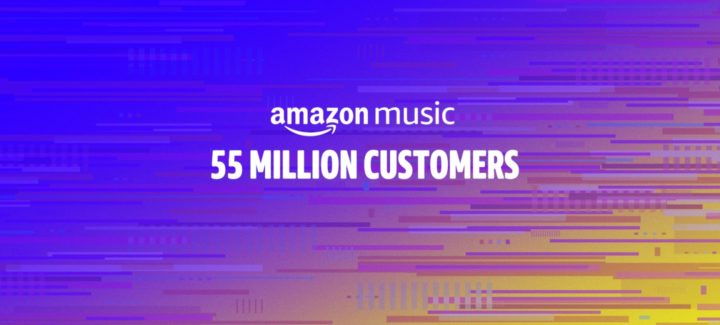 Amazon Musicの利用者数が5500万人を突破、Appleに迫るか?